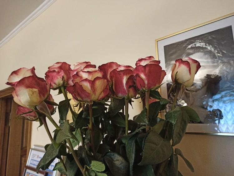 Букет роз от Сони