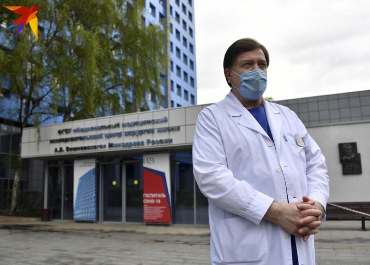 Директор центра Ревишвили Амиран Шотаевич