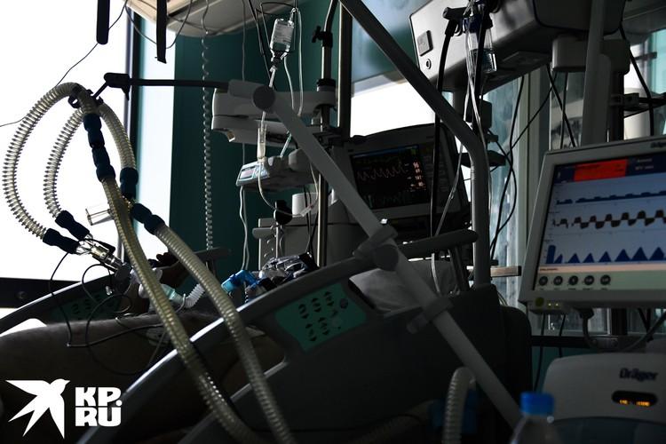 ИВЛ – аппарат искусственной вентиляции легких – он спасает самых тяжелых пациентов.