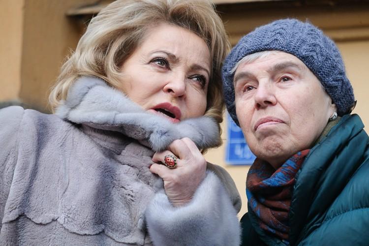 Дочь Даниила Гранина (справа) оценила трейлер фильма