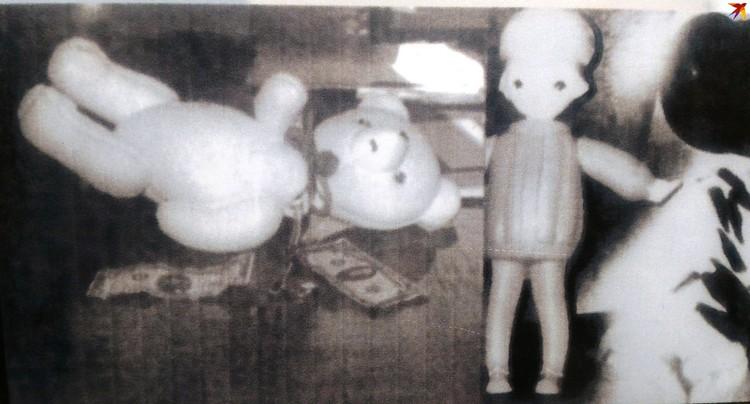 Набитые валютой и золотом игрушки. Фото: из архива Брестской погрангруппы.