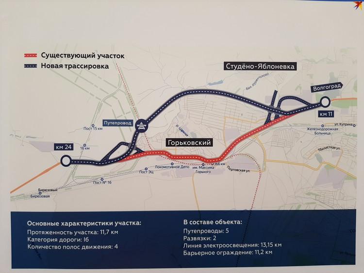 После реализации этого проекта в планах - сделать обход вокруг поселка Новый Рогачик.