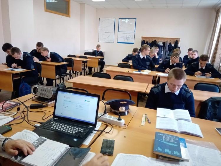Так выглядел лекционный класс до перехода на дистанционное обучение.