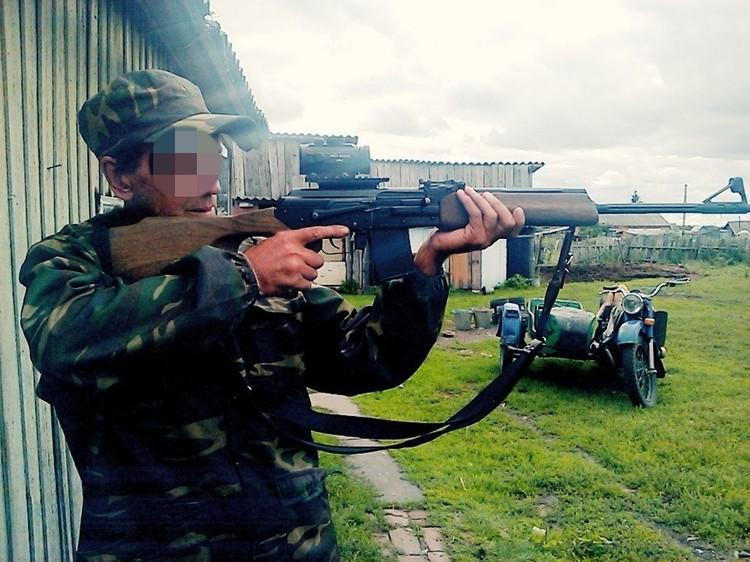 Отец девушки держит в Михайловке фермерское хозяйство