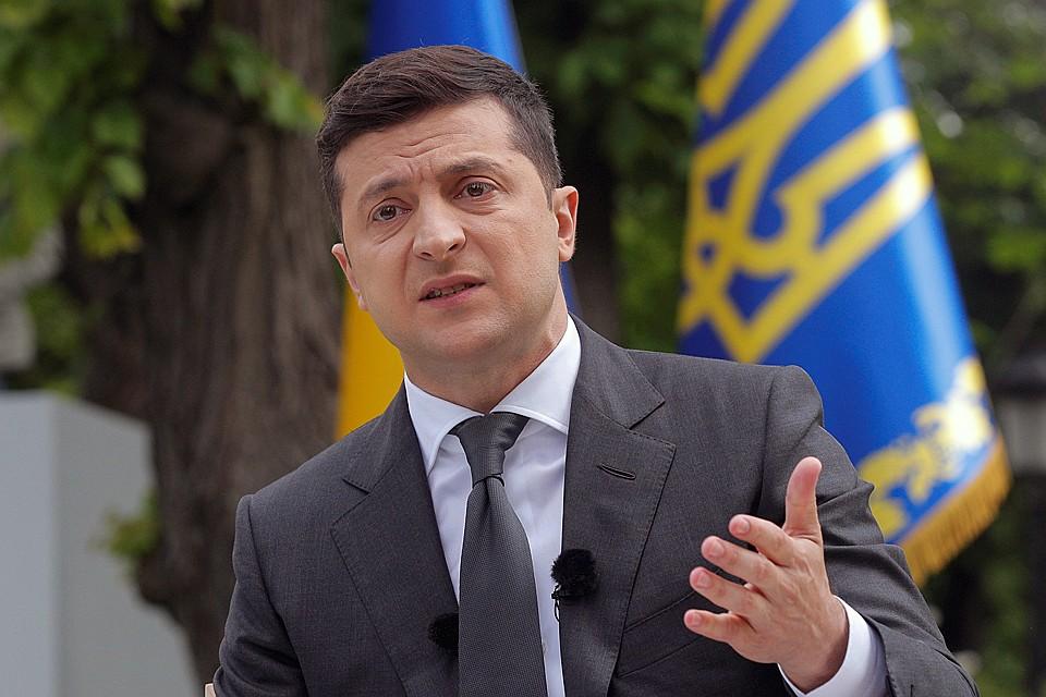 Ровно год назад Владимир Зеленский расписал свой план покорения Крыма и Донбасса Фото: REUTERS