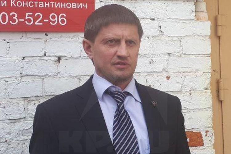 Адвокат Дмитрий Соболев взялся защищать задержанного.