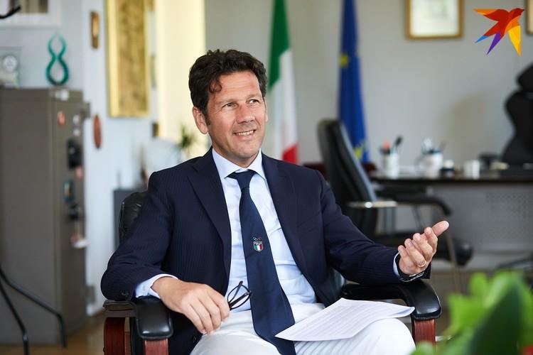 - Мы, конечно, горды, что люди проявляют интерес и любят Италию. Но здоровье - самое главное.