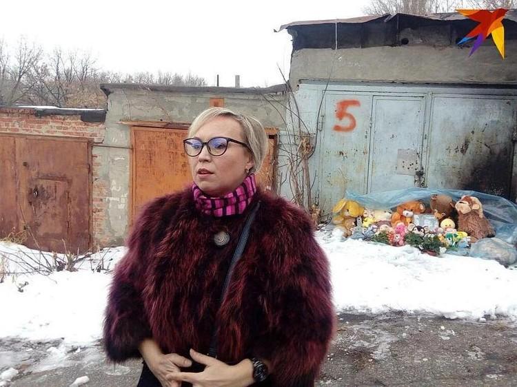 Елена Киселева просила власти снести гаражи