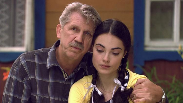 Свердлова в главной роли в сериале «Аромат шиповника».