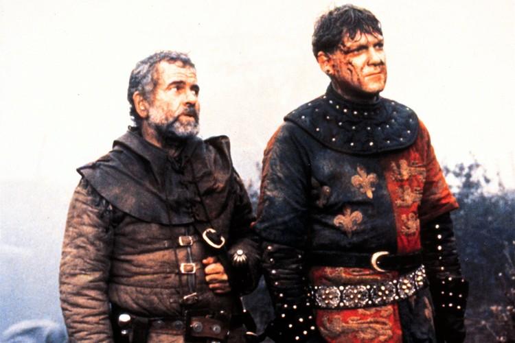 """Актер в картине """"Генрих V"""", 1989 год."""