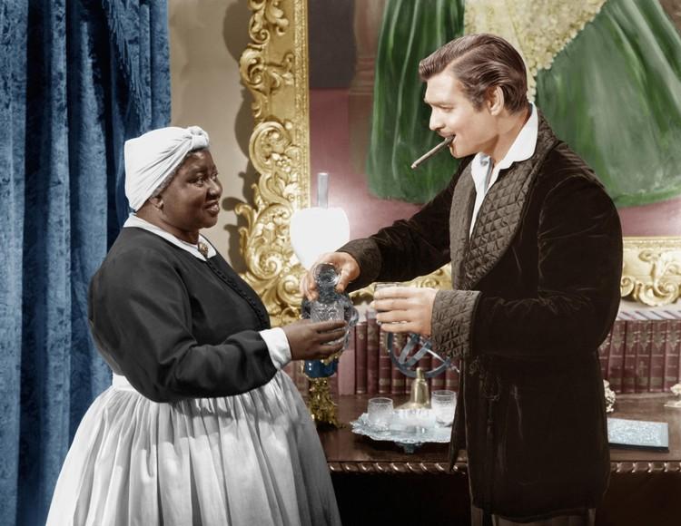 """По мнению цензоров, картина """"Унесенные ветром"""" изображает расовые предрассудки."""