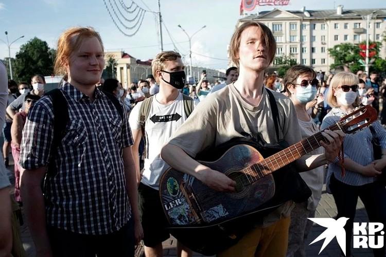 Мирные акции протеста