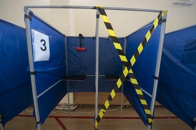 Кабинки для голосования будут работать через одну