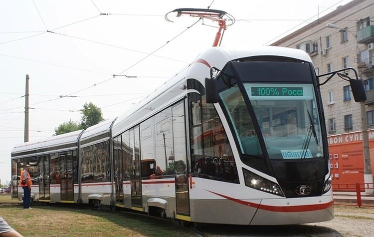 Трехсекционный трамвай появится на улицах города в ближайшие годы.