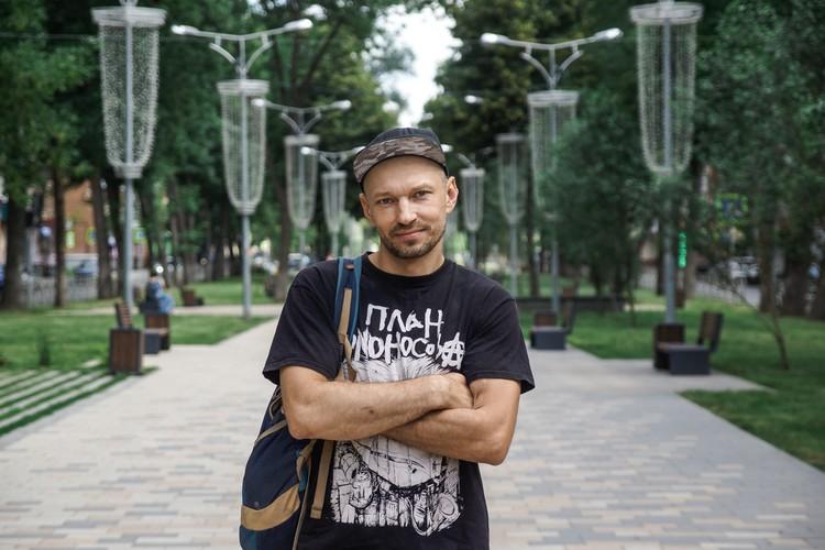 Александр Кудашев, руководитель волонтёрского движения «Вторсырье на благотворительность»