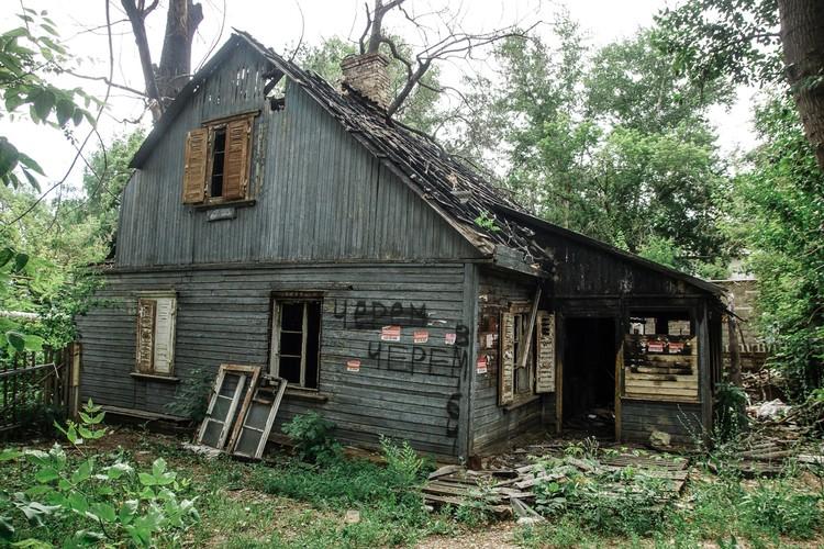 Деревянных домов практически не остается: они горят, их сносят