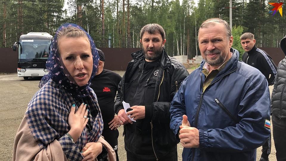 Охрана не хотела пускать известную телеведущую на территорию монастыря Фото: Олег ГАЛИМОВ