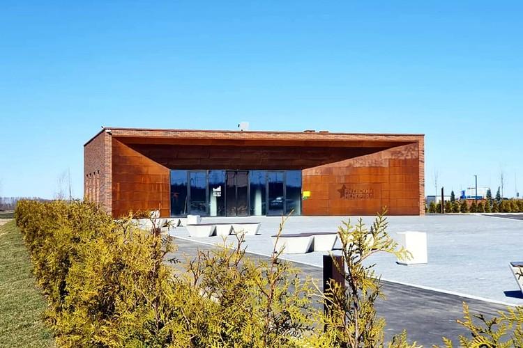 Здание музея, над ним работал архитектор Андрей Фомин. Фото: vk.com/Андрей Коробцов