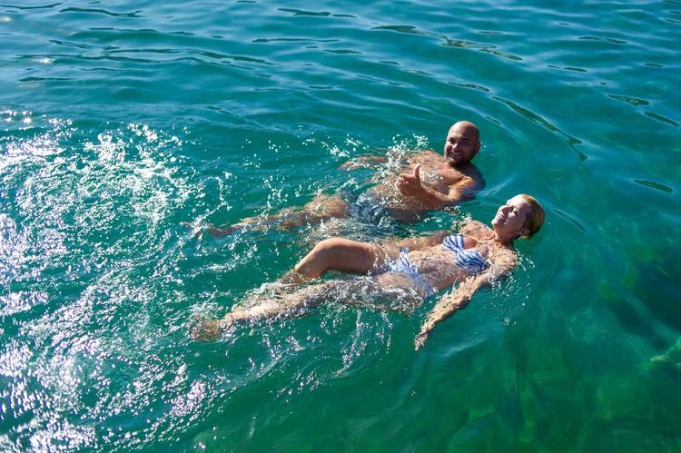 Вода в Черном море прогрелась до +24 градусов