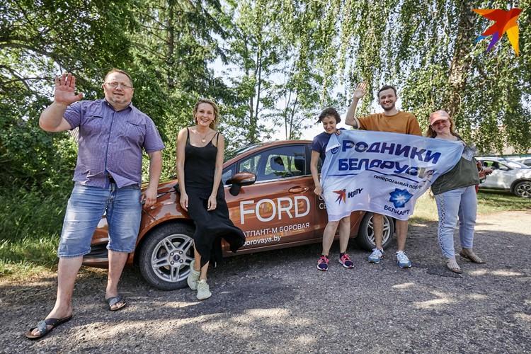 Экспедиция по Гродненщине была самой масштабной за все время проекта. Быстрый и комфортный автомобиль Ford отлично подошел для такого путешествия.