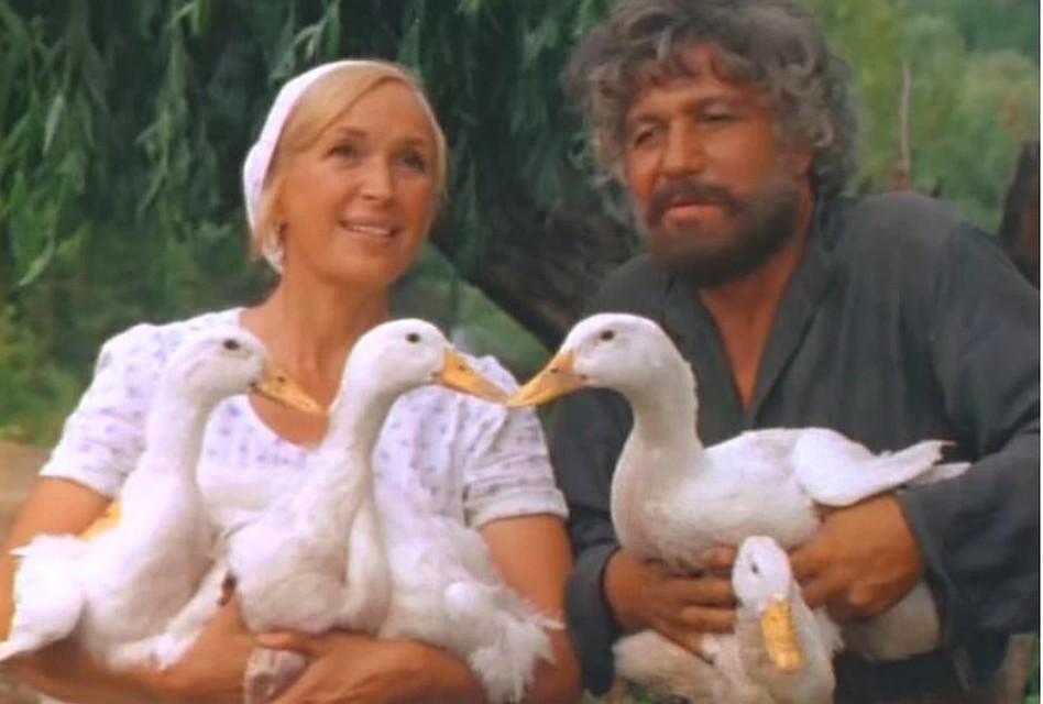 Клара Лучко и Михай Волонтир дружили всю жизнь. Фото: кадр из фильма.