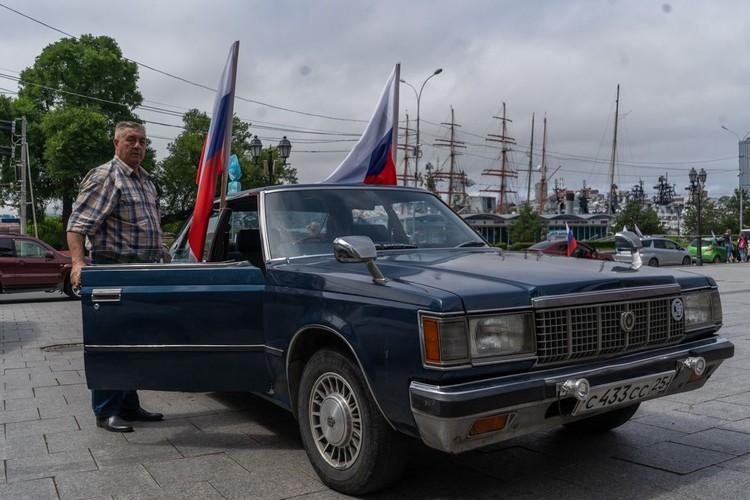 В автопробеге принял участие лидер приморских садоводов и советник губернатора Александр Юртаев