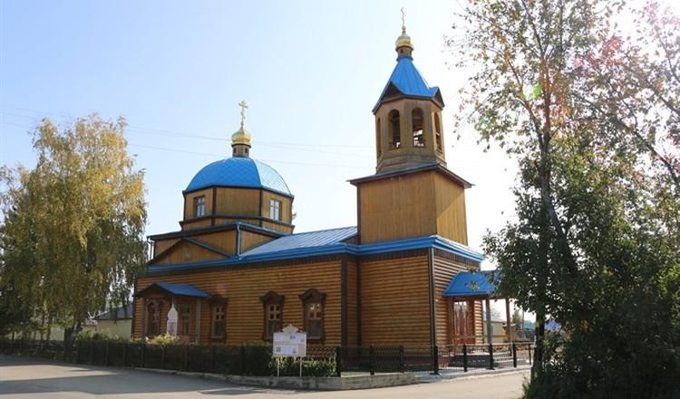 Так церковь выглядела до рокового пожара.