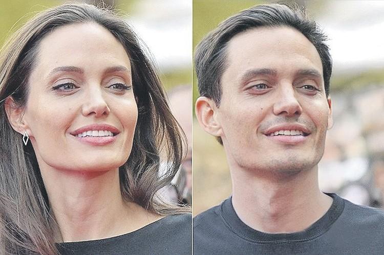 Анджелина Джоли - и ее мужской вариант. Кстати, дочка актрисы, 13-летняя Шайло, на самом деле хочет поменять пол. Тут уж не до смеха. Фото: FaceApp