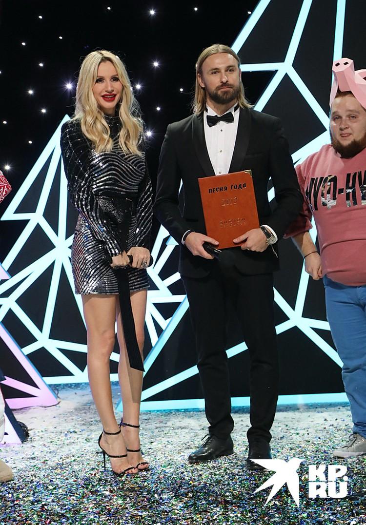 Певица Светлана Лобода и Артем Иванов