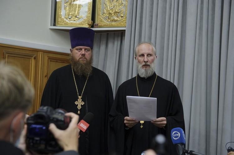Отца Сергия лишили сана на третьем заседании церковного суда