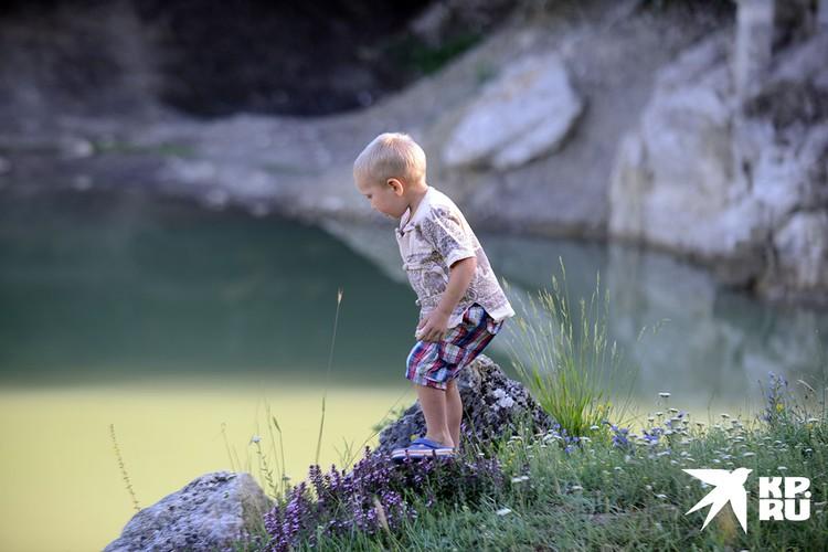 Озеро Богатое Ущелье.