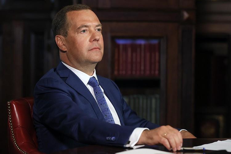 Дмитрий Медведев ответил на вопросы наших журналистов. Фото: Екатерина Штукина