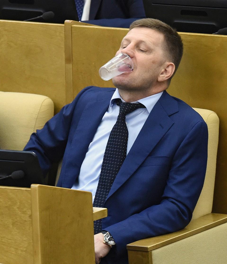 Что известно о задержании хабаровского губернатора Сергея Фургала ...
