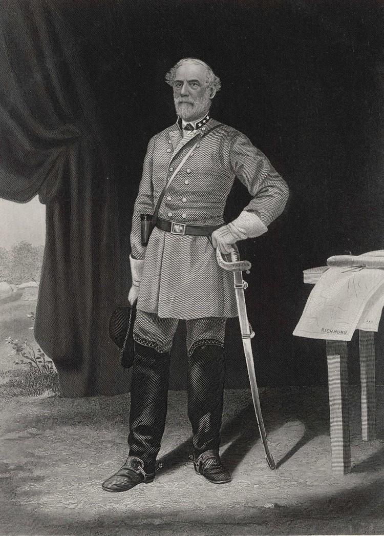 Генерал армии Конфедеративных Штатов Америки Роберт Эдварда Ли.