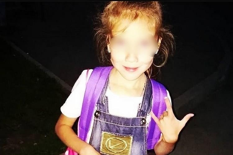 Девочку нашли в лесу без одежды. Фото: личная страница мамы убитой Вики в сети.