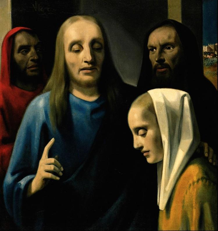 Эта работа - подделка Ван Мегерена, была куплена Германом Герингом