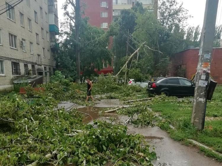 Многие жители остались без электричества. Фото соцсетей