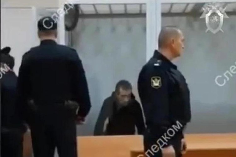 Михаил Туватин ждет суда. Кадр из видео СУ СКР
