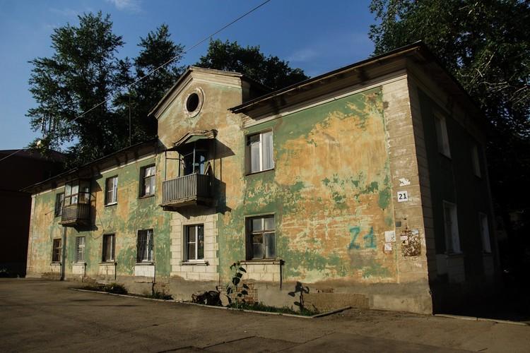 Упомянутые писателем Андреем Олехом двухэтажки можно увидеть на Воронежской
