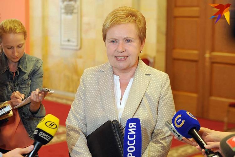 Председатель Центризбиркома Лидия Ермошина.