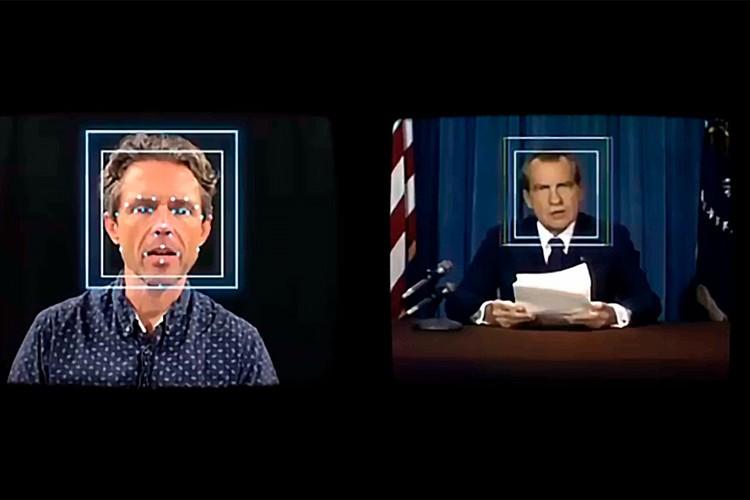 Искусственный интеллект вкладывает в уста Никсона траурную речь, которую он не произносил.