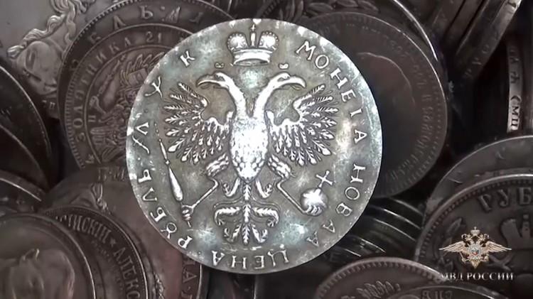 Серебро царских времен оказалось фальшивкой