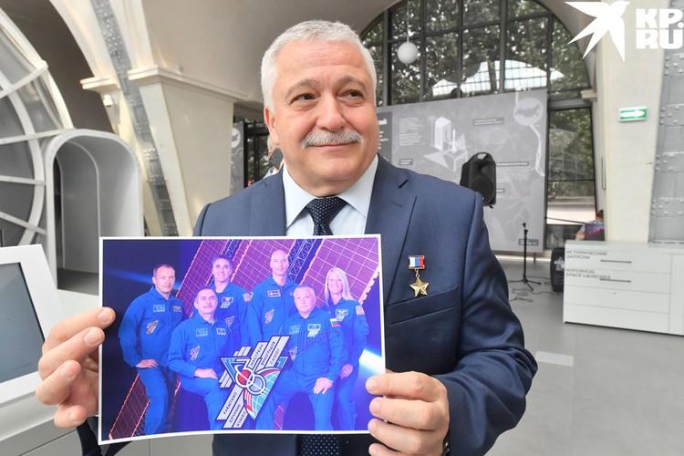 Президент центра «Космонавтика и авиация» на ВДНХ, летчик-космонавт, Герой России Федор Юрчихин.