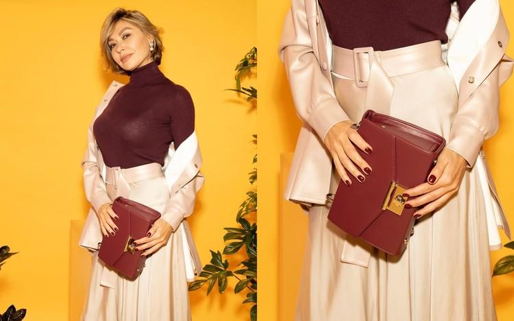 Один из трендов – юбка с запахом. Фото: instagram.com/stilistrostov/