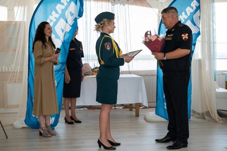 Елена Дружинина - помощница солиста оркестра Росгвардии