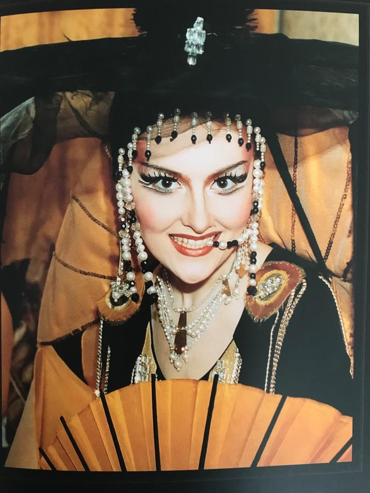 Марина Есипенко в роли Принцессы Турандот.