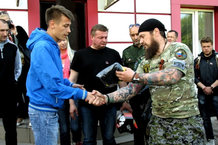 """По словам экс-основателя """"Мар"""" Алексея Марущенко (справа) организация давно ликвидирована. Фото: Народный совет ДНР"""