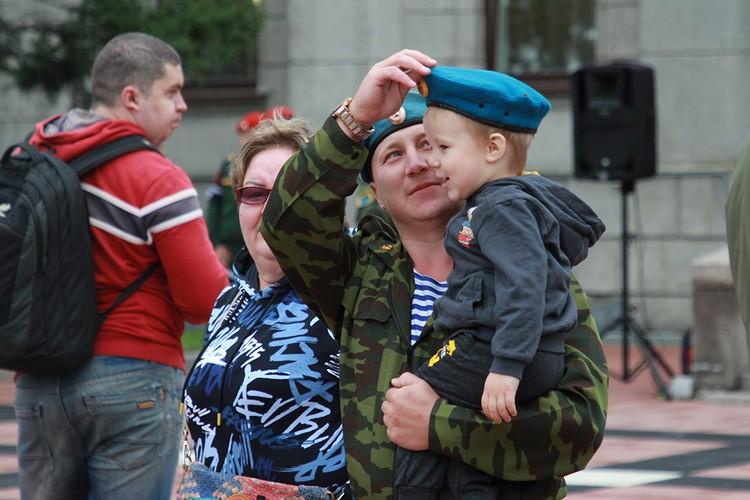 День ВДВ в Иркутске 2020 отметили 2 августа