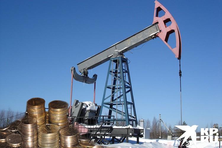 Бюджет России получил большие убытки от снижения цен на нефть