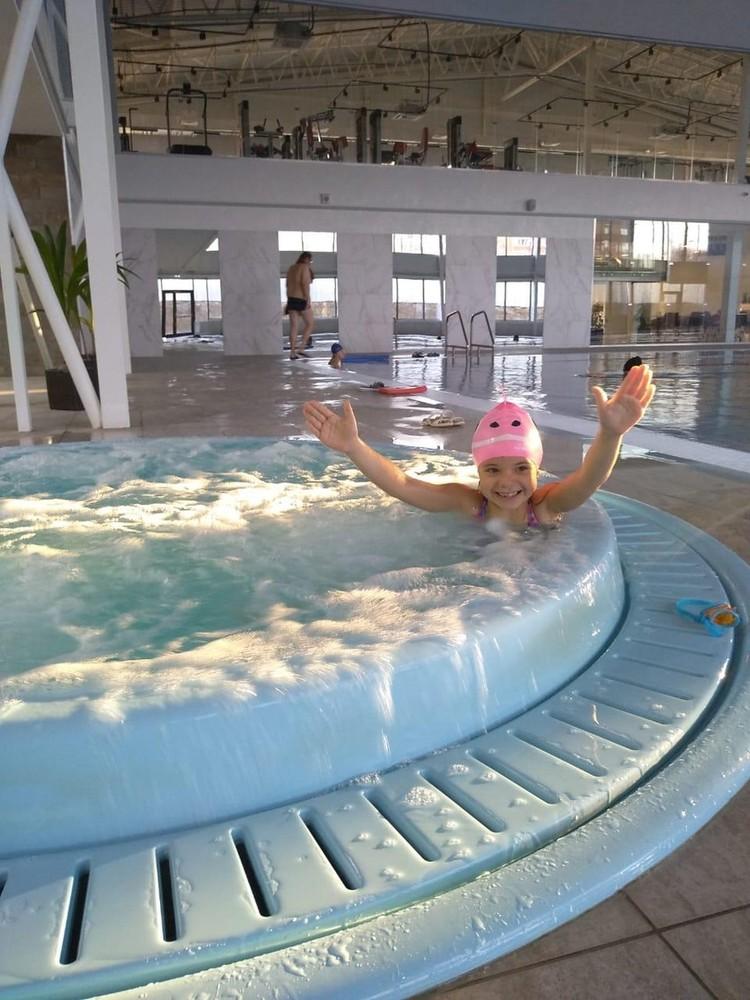 Дарья занимается плаванием несколько лет. Фото: личный архив